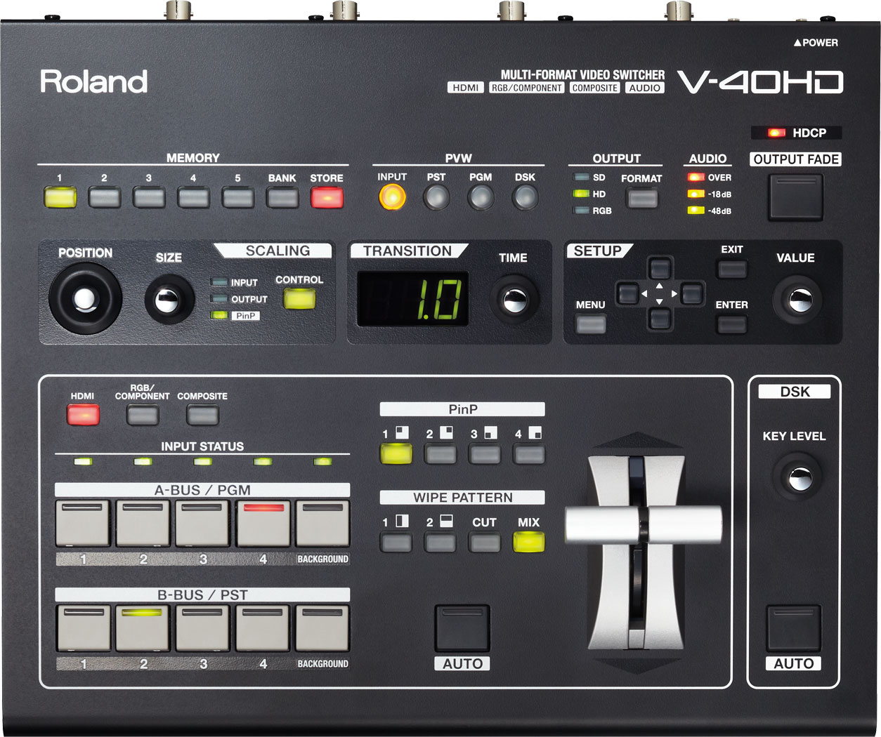 Roland Pro A V 40hd Multi Format Video Switcher Tutorial 3way Switches And 4way