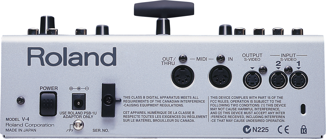 Roland Pro A V 4 Channel Video Mixer With Effects Av Svideo To Composite Convertergif