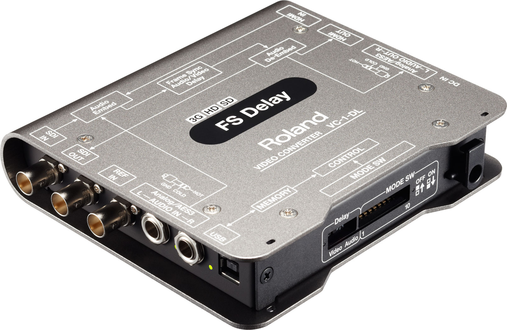 Roland Pro A/V - VC-1-DL | Bi-directional SDI/HDMI with Delay and ...