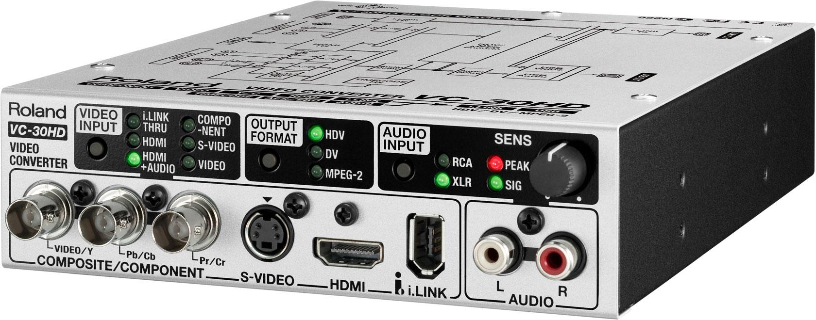 Roland Pro A V Vc 30hd Video Converter