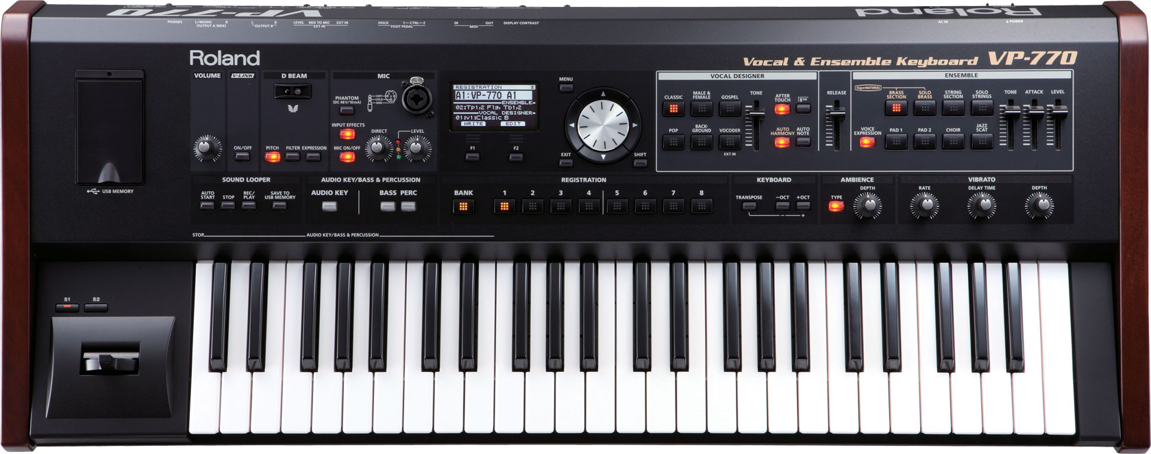 Roland - VP-770 | Vocal & Ensemble Keyboard