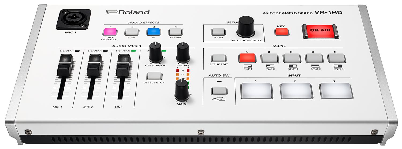 Roland Pro A/V - VR-1HD | AV Streaming Mixer
