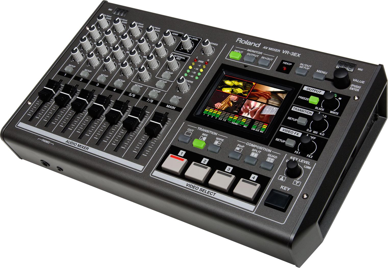 Roland Pro A/V - VR-3EX | AV Mixer