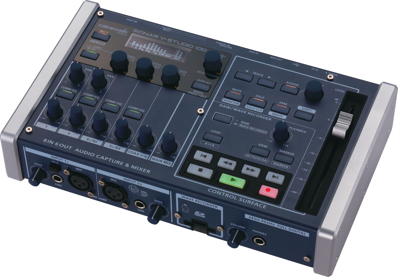 Roland - V-STUDIO 100 | Portable Music Production Studio