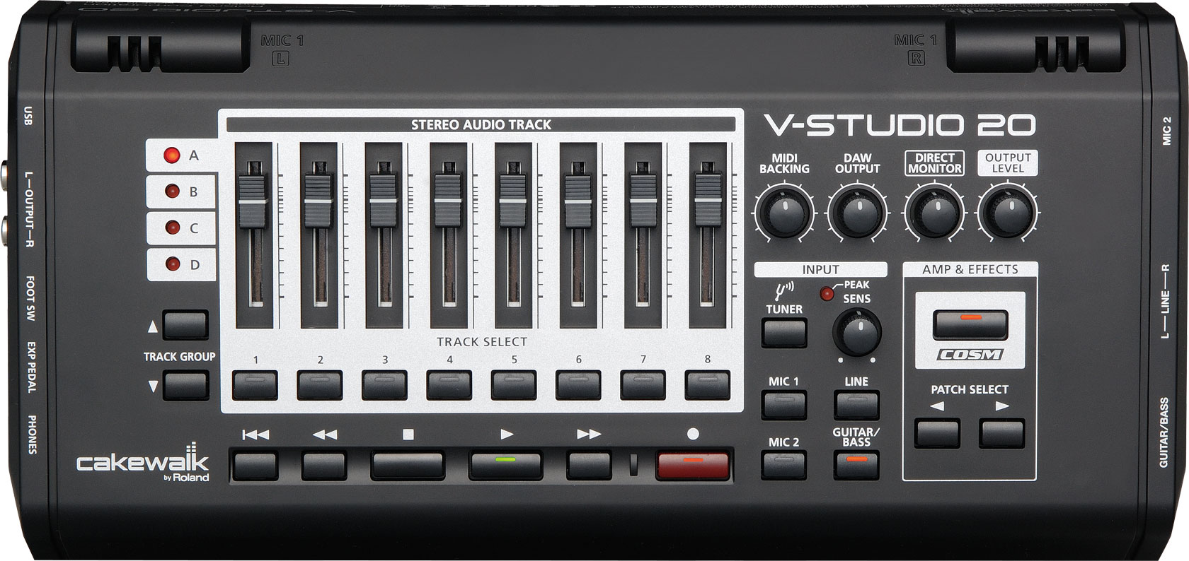 Roland - V-STUDIO 20 | Audio Interface/Control Surface with