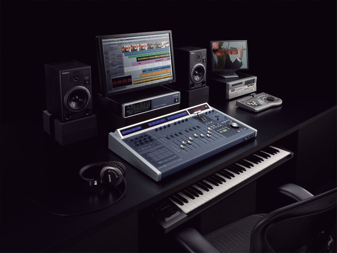 Digital Piano Vs Workstation : roland v studio 700 digital audio workstation ~ Vivirlamusica.com Haus und Dekorationen