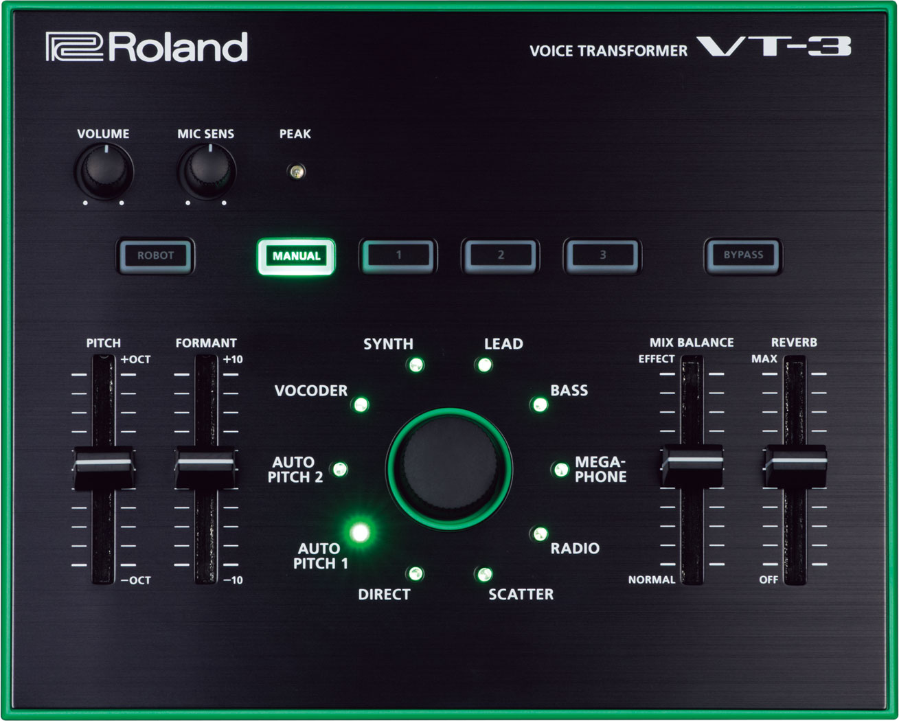 Roland Vt 3 Voice Transformer Picture Of The 2 Channel Led Color Organ Circuit