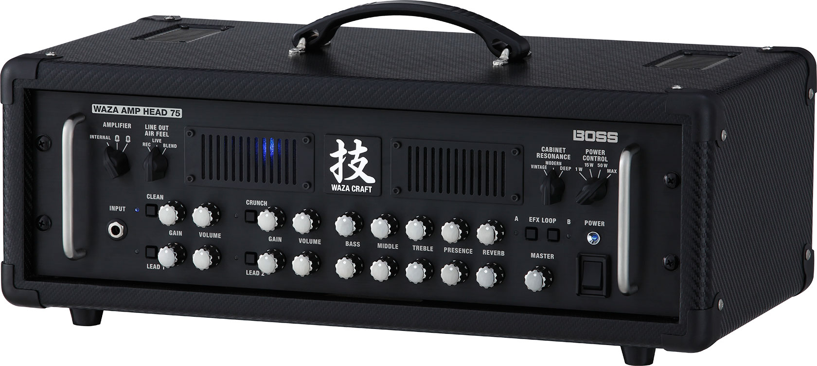 Boss Waza Amp Head 75 Guitar Amplifier
