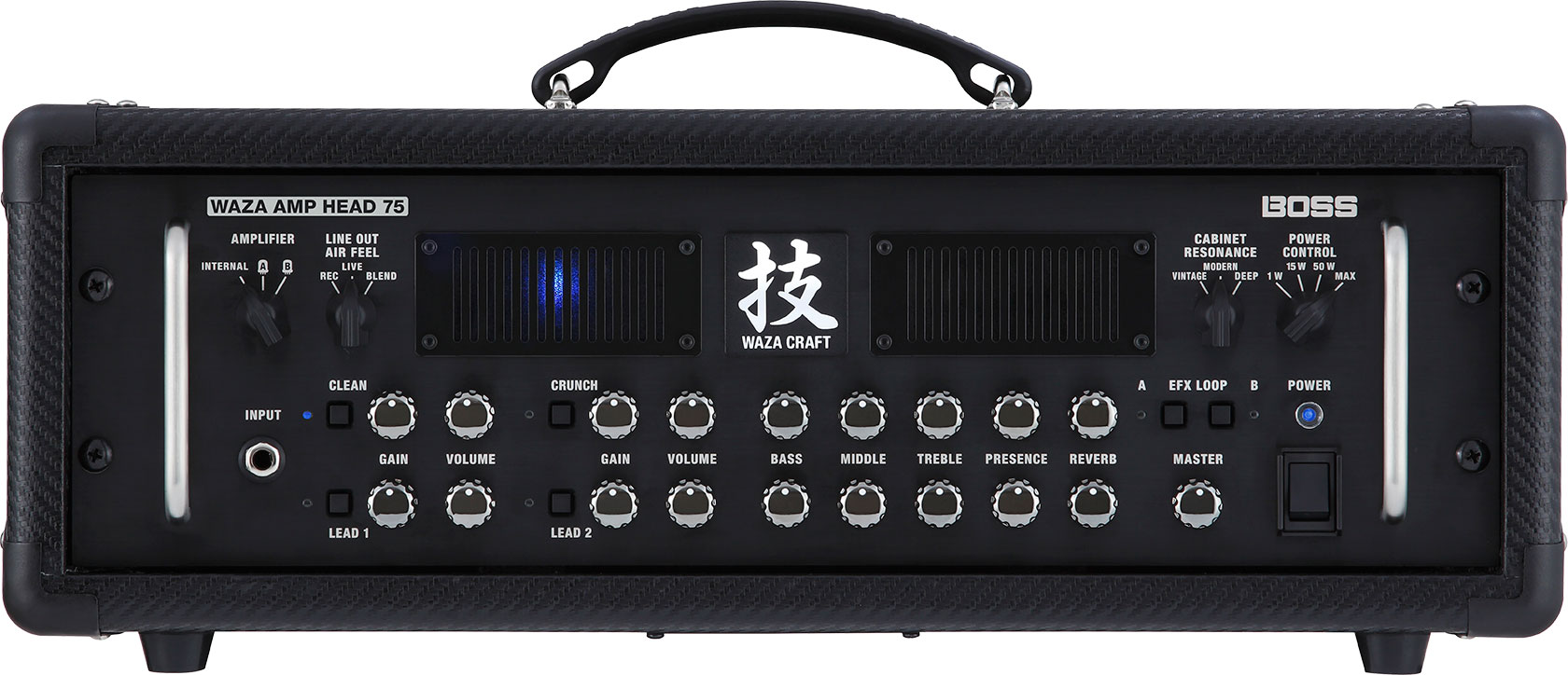 boss waza amp head 75 guitar amplifier. Black Bedroom Furniture Sets. Home Design Ideas