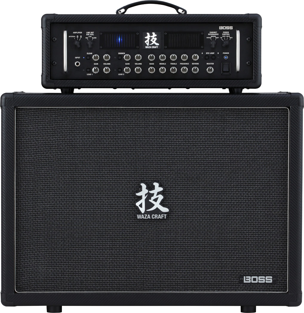 Boss Waza Amp Cabinet212 Guitar Amplifier Cabinet Or Music Home Stereo Powered Subwoofer
