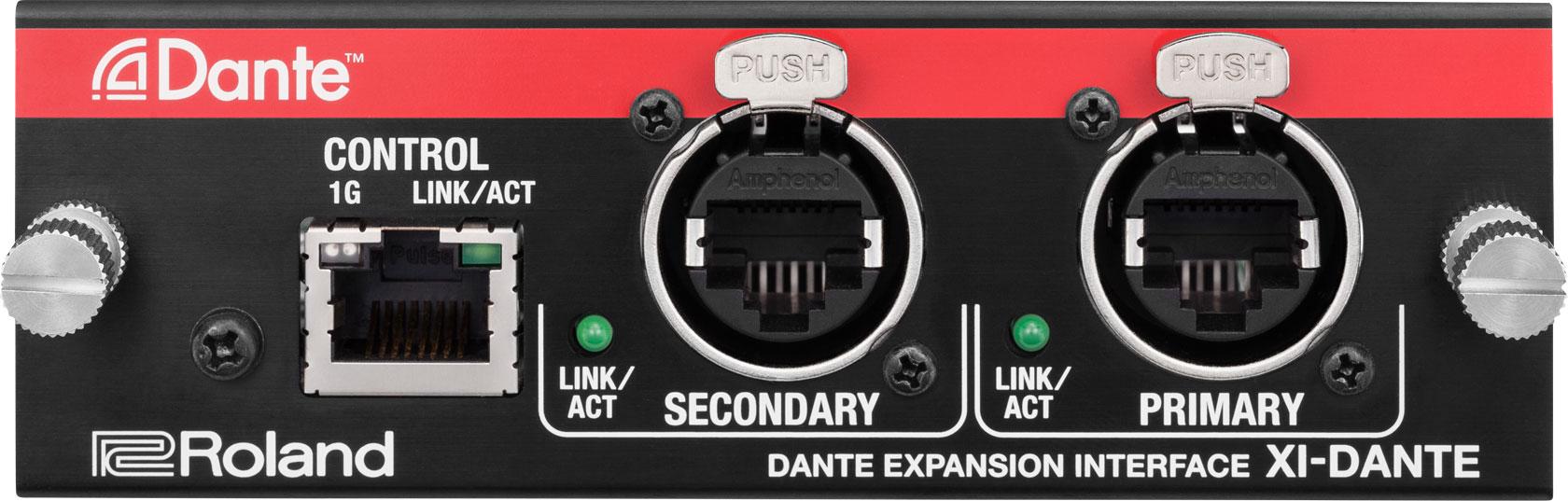 Roland Pro A/V - XI-DANTE | DANTE Expansion Interface