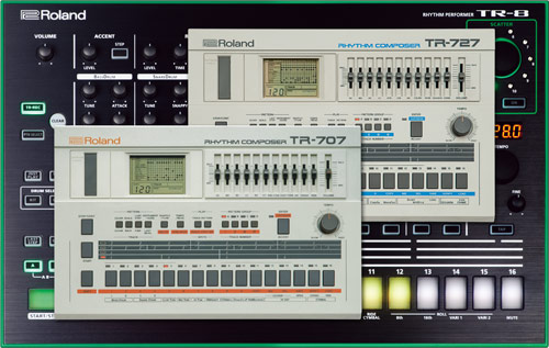 Roland - 7X7-TR8 | Drum Machine Expansion for TR-8