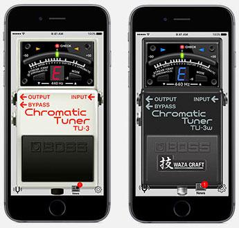 BOSS Tuner App | Chromatic Tuner App - BOSS