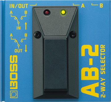 BOSS - AB-2 | 2-Way Selector Aby Switch Wiring Diagram on
