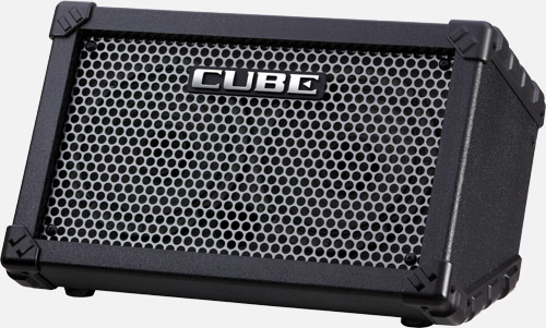 roland cube street battery powered stereo amplifier. Black Bedroom Furniture Sets. Home Design Ideas