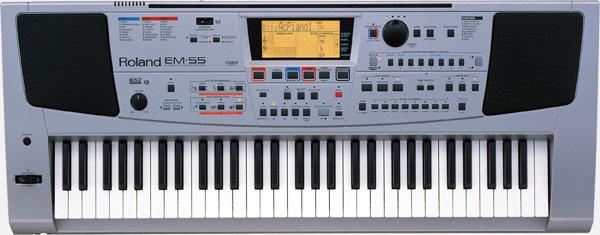 Roland Em 55 Interactive Keyboard