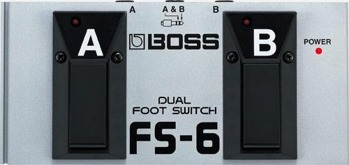 boss fs 6 dual footswitch rh boss info
