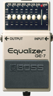 BOSS - GE-7 | Graphic Equalizer