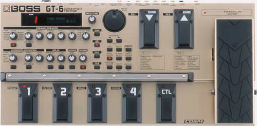 BOSS - GT-6   Guitar Effects Processor