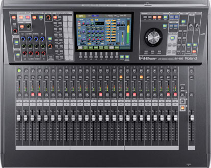 a17f953540 M-480 | 48-Channel Live Digital Mixing Console - Roland Pro A/V