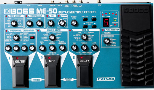 Boss Me 50 Guitar Multiple Effects
