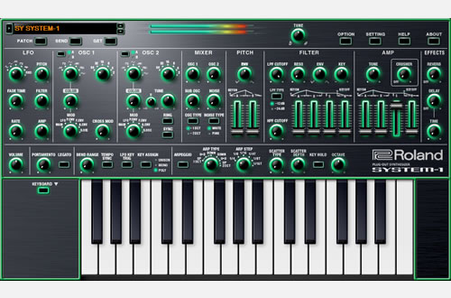 SYSTEM-1 Software Synthesizer | Software     - Roland