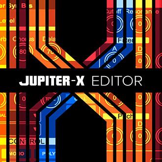 JUPITER-X Editor