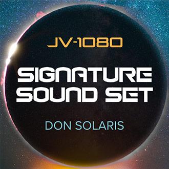 JV-1080 Signature Sound Set: Don Solaris