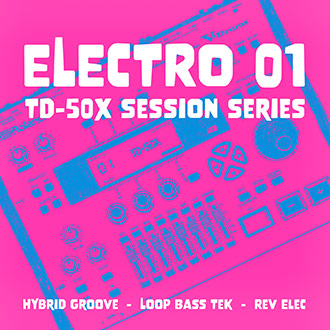 TD-50X Session Series: Electro 01