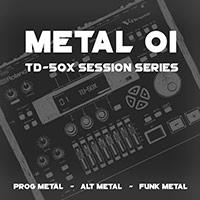 TD-50X Session Series: Metal 01