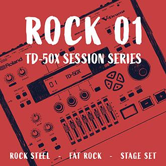 TD-50X Session Series: Rock 01