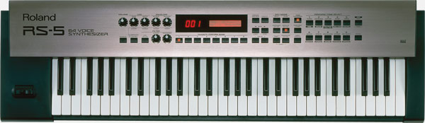 RS-5 | 64-Voice Synthesizer - Roland