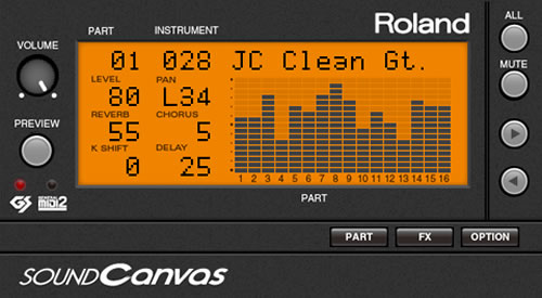 Sound Canvas VA | Software Synthesizer - Roland