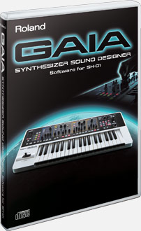 Gaia Synthesizer Sound Designer Software For Sh 01 Roland