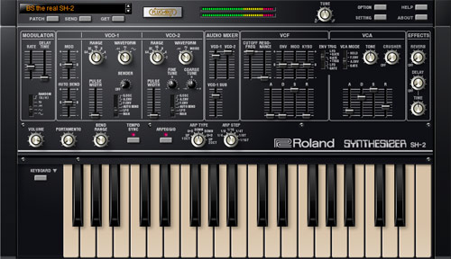 Roland - SH-2 PLUG-OUT | Software Synthesizer