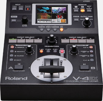 V-4EX | 4-Channel Digital Video Mixer with     - Roland Pro A/V