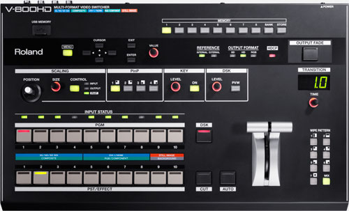 V-800HD | Multi-format Video Switcher - Roland Pro A/V