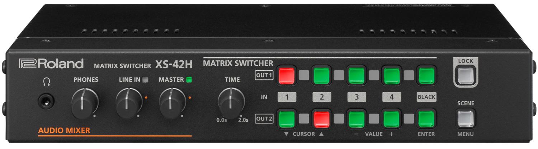 XS-42H | Matrix Switcher - Roland Pro A/V