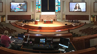 Roland M-5000 OHRCA Live Mixing Console Adds Sound Flexibility for the Concordia Lutheran Church of San Antonio