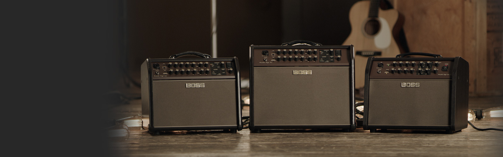 BOSS Acoustic Singer Amp Series