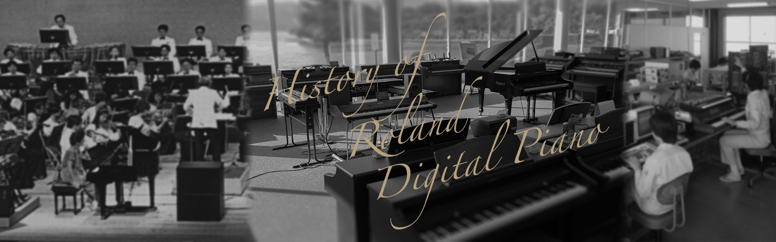 History of Roland Digital Piano