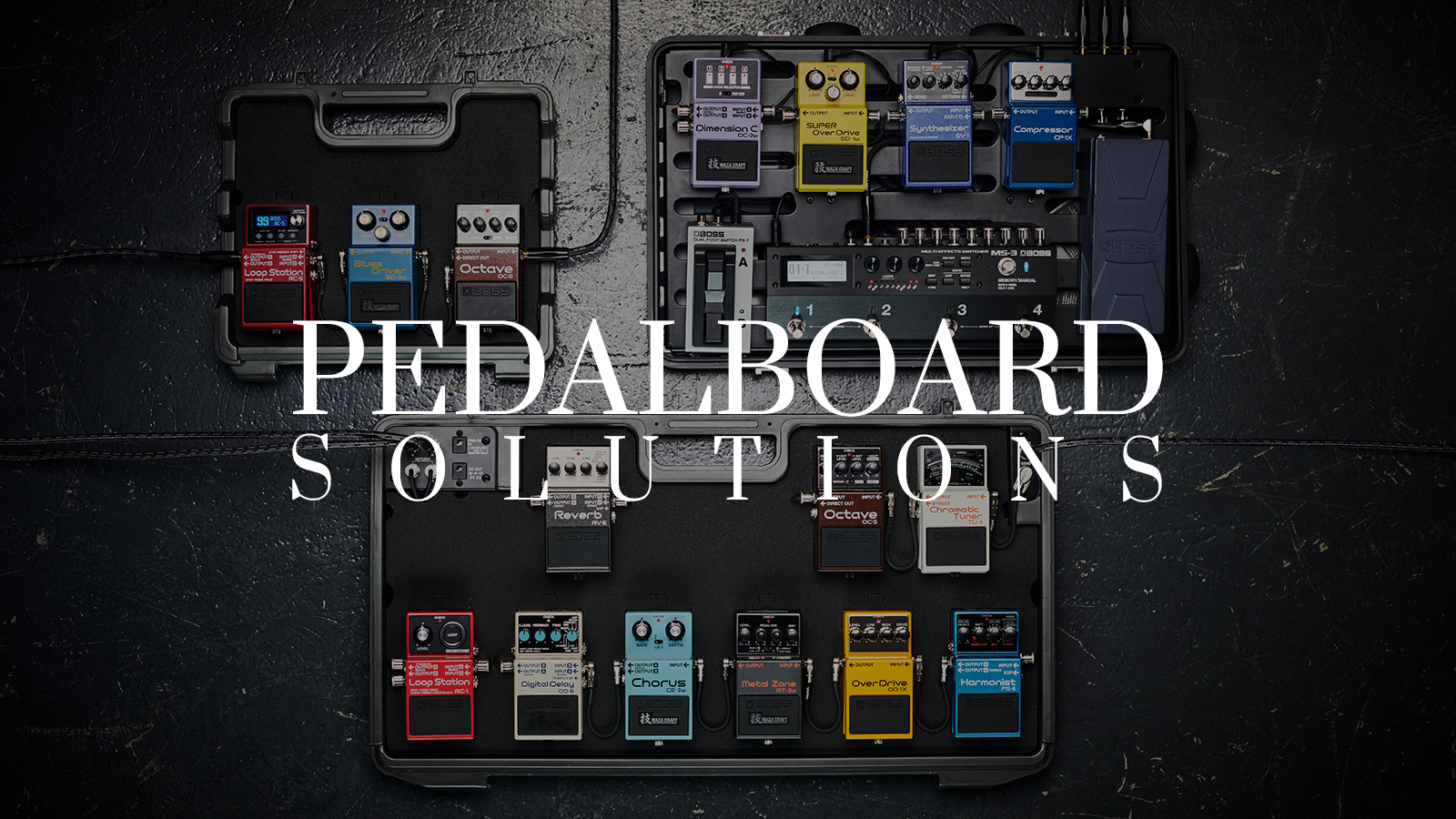 Pedalboard Solution