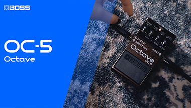 OC-5 OCTAVE - The New Standard In Octave Pedals