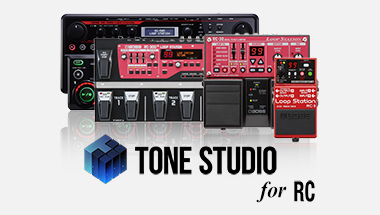 BOSS Tone Studio for RC