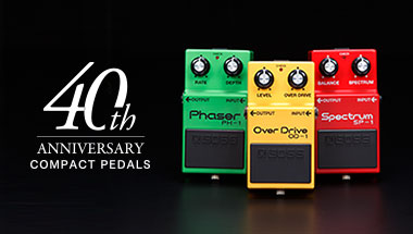 BOX-40 Compact Pedal 40th Anniversary Box Set