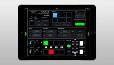 V-1HD Remote iPad App