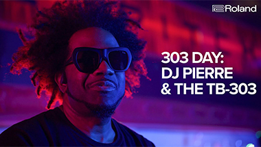 featured-video:303 DAY, DJ Pierre and the Roland TB-303