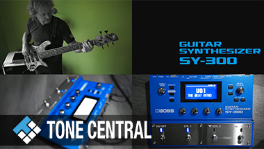 BOSS TONE CENTRAL POP Synth Bass Collection by Tamas Barabas