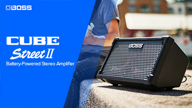 CUBE Street II Battery-Powered Stereo Amplifier