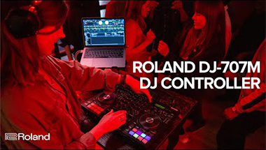 Roland DJ-707M DJ Controller for Mobile DJs